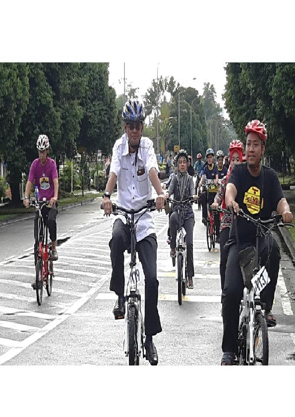 Bursar's Office Cycling Program with Rakan Bakti Putra Student in conjunction with the delivery of E